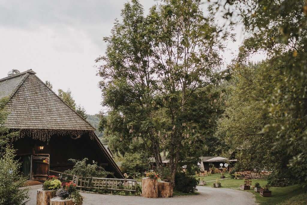 Feier in der Hochzeitlocation am Henslerhof im Schwarzwald